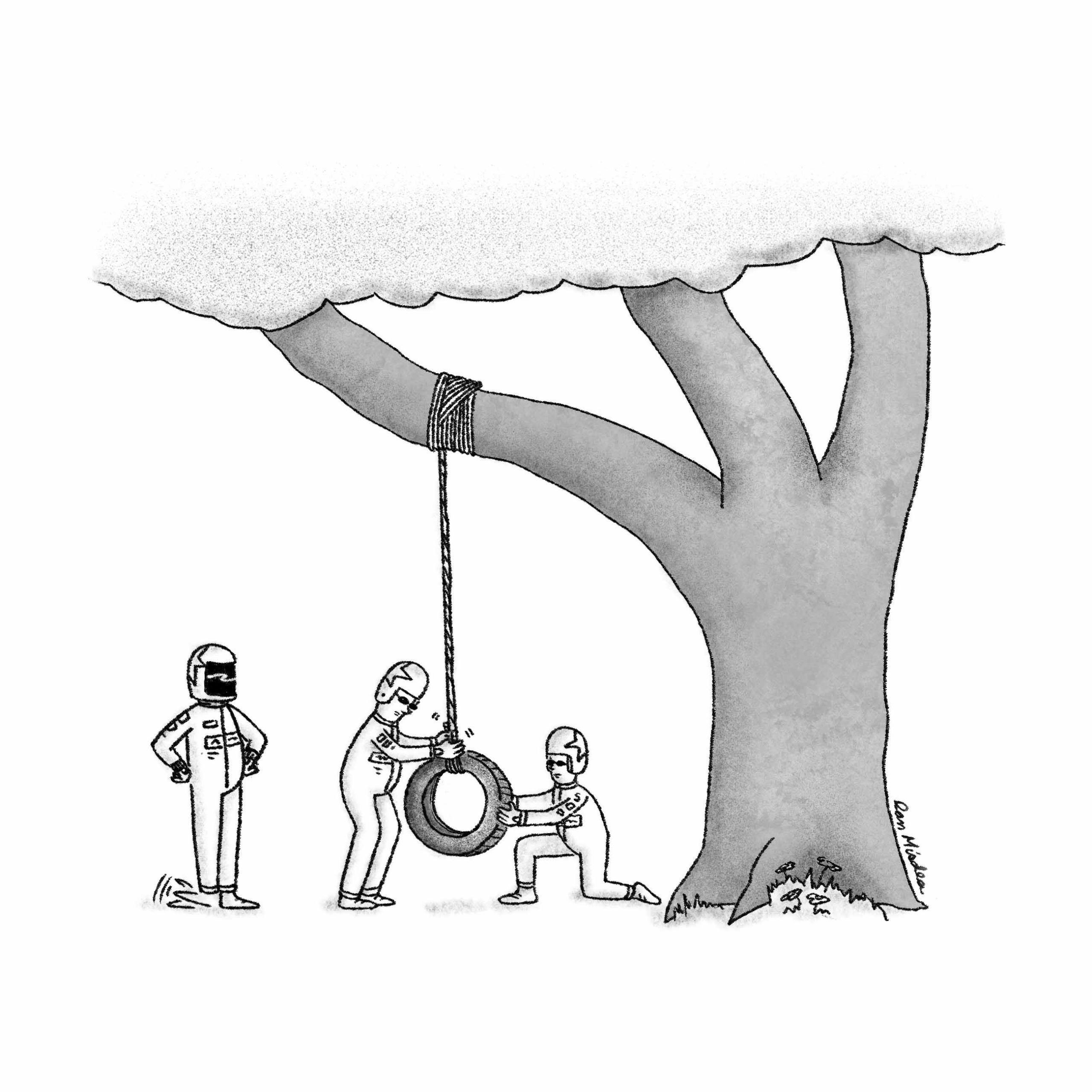 Tire Swing Change (The Funny Times)