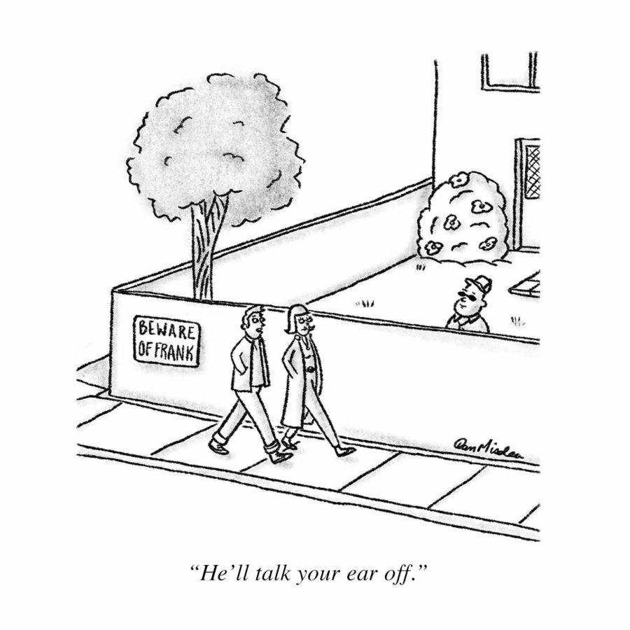 Beware of Frank Cartoon