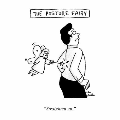 Posture Fairy Cartoon