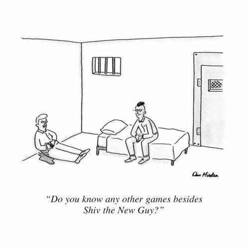 Shiv The New Guy Cartoon