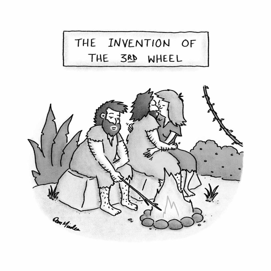 Invention of the 3rd Wheel Cartoon (Air Mail)