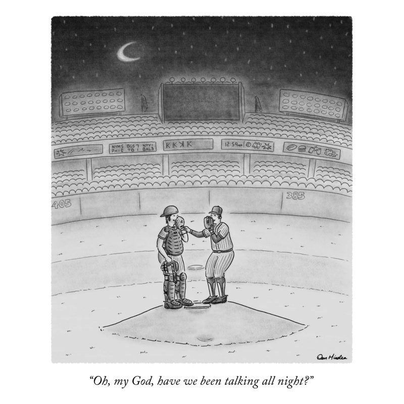 Talking All Night (The New Yorker)